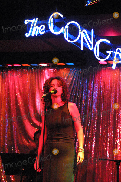 Michelle Greene Photo - Exclusive - Michele Green of LA Law Performs Live at the Conga Room Los Angeles CA June 7 2002 Photo by Nina PrommerGlobe Photos Inc2002