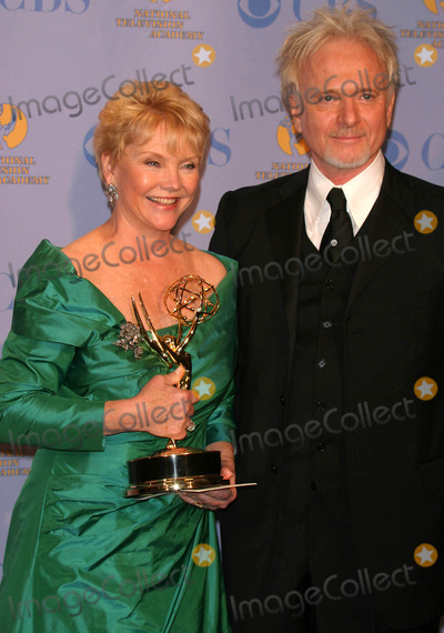 Anthony Geary Photo - 32nd Annual Daytime Emmy Awards (Press Room) Radio City Music Hall New York City 05-20-2005 Photo by John Barrett-Globe Photos 2005 Erika Slezak Winner For Best Actress in a Drama Series with Anthony Geary
