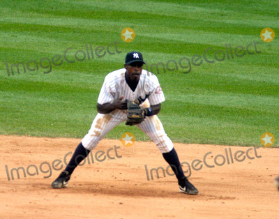 Alfonso Soriano Photo - New York Yankees Vs Minnesota Twins Game One of the Alds at Yankee Stadium in the Bronx  NYC 09302003 Photo by John Barrett  Globe Photos Inc Alfonso Soriano