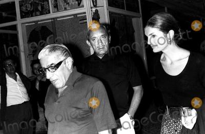 Jacqueline Kennedy Onassis Photo - Jacqueline Kennedy Onassis with Aristotle Onassis (L) and His Brother Elio SorciGlobe Photos Inc Jacquelinekennedyonassisobit