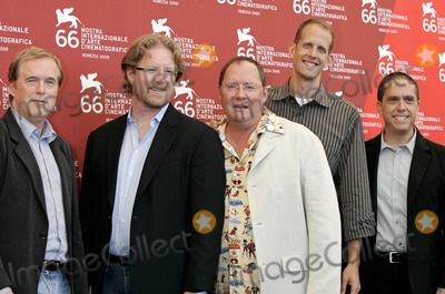 Andrew Stanton Photo - Brad Bird Andrew Stanton John Lasseter Pete Docter Lee Unkrich Lifetime Achivement Photocall 66th Venice Film Festival Venice Italy September 06 2009 Photo by Roger Harvey-Globe Photos Inc 2009
