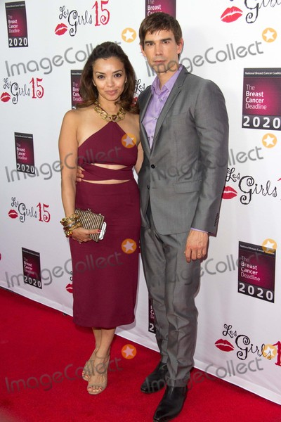 Anel Lopez Photo - Chris Gorham and Anel Lopez Attend the National Breast Cancer Coalition Funds 15th Annual Les Girls Cabaret on October 11th 2015 at the Avalon Hollywood in Hollywoodcaliforniaphototony LoweGlobephotos