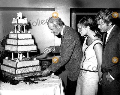 James Stewart Photo - James Stewart Rosemary Forsyth and Doug Mcclure Cake Was Presented to James Stewart to Commemorate His 30th Year in Motion Pictures SmpGlobe Photos Inc