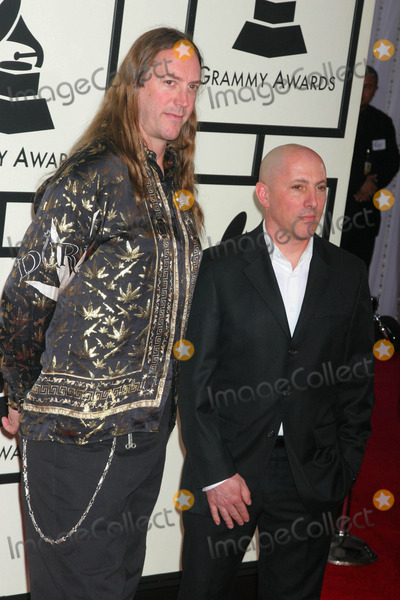 Danny Carey Photo - 50th Annual Grammy Awards - Red Carpet Staples Center Los Angeles California 02-10-2008 Danny Carey and Maynard James Keenan Photo Clinton H Wallace-photomundo-Globe Photos Inc