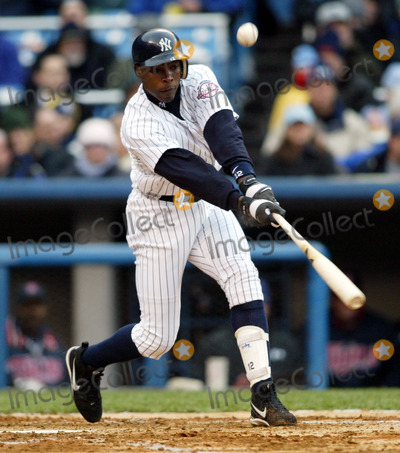 Alfonso Soriano Photo - New York Yankees Opening Day (New York Yankees V Minnesota Twins) 482003 Photo ByGlobe Photos Inc 2003 Alfonso Soriano