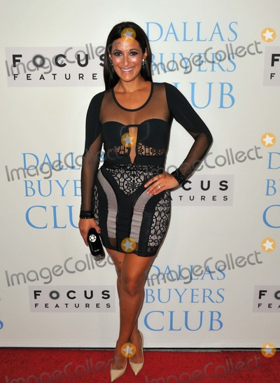 Angelique Cabral Photo - Angelique Cabral attending the Los Angeles Premiere Dallas Buyers Club Held at the Academy of Motion Picture Arts and Science in Beverly Hills California on October 17 2013 Photo by D Long- Globe Photos Inc