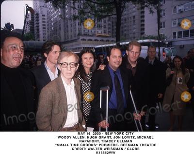 Allen Hughes Photo - May 16 2000 - New York City Woody Allen Hugh Grant Jon Lovitz Michael Rapaport Tracey Ullman Small Time Crooks Premiere- Beekman Theatre Credit Walter Weissman  Globe