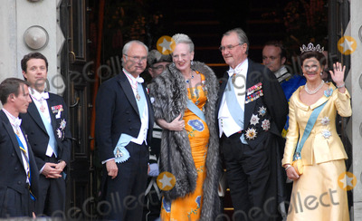 Queen Silvia Photo - K52991State Banquet-Swedish State Visit-Malmo Town Hall Copenhagen Denmark 05-11-2007Photo By Ricardo Ramirez-Richfoto-Globe Photos incSWEDISH ROYAL FAMILY AND DANISH ROYAL FAMILYPRINCE FREDERIK QUEEN MARGRETHE PRINCE JOACHIM OF DENMARK  KING CARL GUSTAV AND QUEEN SILVIA OF SWEDEN