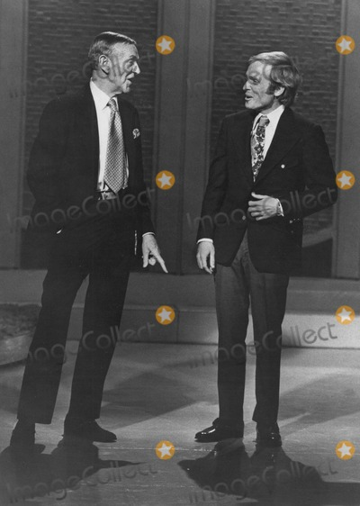 Fred Astaire Photo - Dick Cavett with Fred Astaire on Dick Cavett Show Supplied by Smp-Globe Photos Inc Tv-film-still