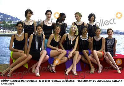 Adriana Karembeu Photo - Presentaion Bijoux Imapress - Nice Matin Festival DE Cannes