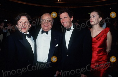 Henri Verneuil Photo - Imapresspierre Hounsfield- Henri Verneuil -Les Cesars Roman Polanski Jack Lang Et Emmanuelle Seigner (the French Director Henri Verneuil Passed Away Today 1112002 at the Age of 81) Credit ImapressGlobe Photos Inc