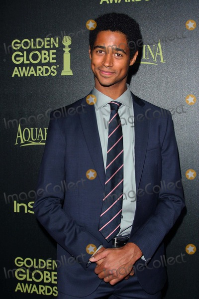 Alfred Enoch Photo - Alfred Enoch attends Hfpastyle - Miss Golden Globe Announcement Party 20th November 2014 at the Fig  Olive Melrose Placewest Hollywood Californiausaphoto Tleopold Globephotos