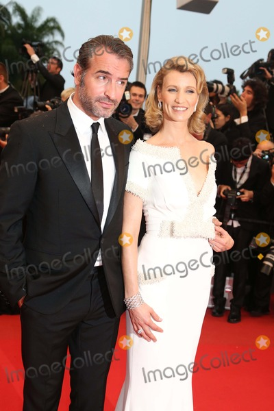Alexandra Lamy Photo - Actor Jean Dujardin and Alexandra Lamy Arrive at the Premiere of Therese Desqueyroux During the 65th Cannes Film Festival at Palais Des Festivals in Cannes France on 27 May 2012 Photo Alec Michael Photo by Alec Michael-Globe Photos Inc