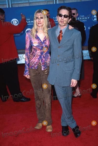 Aimee Mann Photo -  22101 the 43rd Grammy Awards at the Staples Center in Los Angeles CA Aimee Mann and Michael Penn Photo by Fitzroy BarrettGlobe Photos Inc