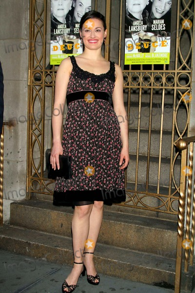 ASHLEY BROWN Photo - Opening Night Performance For Angela Lansbury and Marian Seldes in Deuce Music Box Theatre New York NY 05-06-2007 Photo by Mitchell Levy-rangefinder-Globe Photos Inc 2007 Ashley Brown