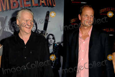 Bill Maher Photo - Bill Maher Woody Harrelson attends the Los Angeles Premiere of Zombieland Held at the Graumans Chinese Theatre in Hollywood California on September 23 2009 Photo by David Longendyke-Globe Photos Inc 2009