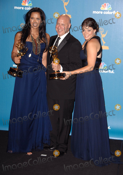 Tom Colicchio Photo - Padma Lakshmi Tom Colicchio and Gail Simmons 62nd Primetime Emmy Awards - Press Room Held at the Nokia Theatre Los Angelescalifornia 08-29-2010 Photo by Dlong-Globe Photos Inc 2010