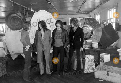 John Bonham Photo - Led Zeppelin in San Francisco 1969 Jimmy Page Robert Plant John Paul Jones and John Bonham Photo by Robert Stinnett-Globe Photos
