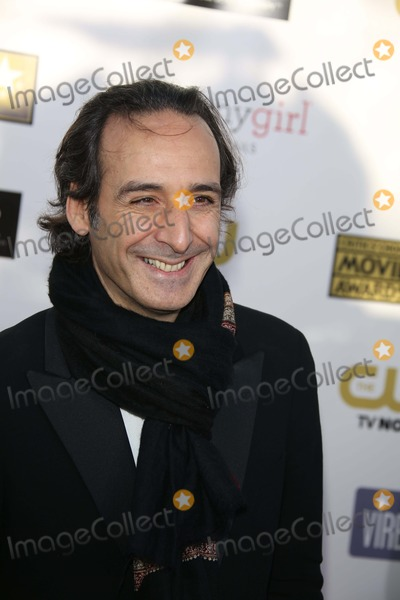 Alexandre Desplat Photo - Composer Alexandre Desplat Arrives at the the 18th Annual Critics Choice Awards at the Barker Hanger in Santa Monica USA on 10 January 2013 Photo Alec Michael Photos by Alec Michael-Globe Photos Inc