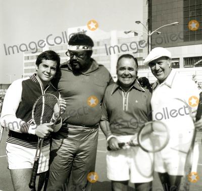 Rosey Grier Photo - Rosey Grier Carl Reiner Jonathan Winters and Desi Arnaz Jr Photo Globe Photos Inc Jonathanwintersretro