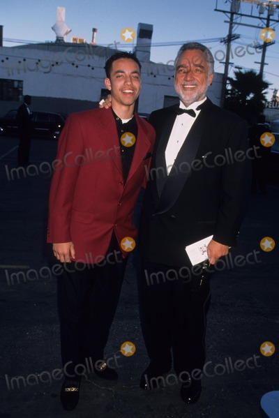Train Photo - Danny Bakewell with Son Jamie Brooks Bakewell at 11th Soul Train Awards in Los Angeles 1997 K7999lr Photo by Lisa Rose-Globe Photos Inc