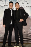 Andy Lau Photo - Cast members Andy Lau and Ka Tung Lam promote film Firestorm in TaipeiChina on Monday December 162013Credit Topphotoface to face- No rights for China and Taiwan -
