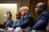 Photo - DonaldTrump makes Participates in a Meeting on Opportunity Zones