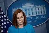 Photos From White House Press Secretary Jen Psaki Holds Briefing