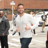Photos From Zachary Levi promotes new movie SHAZAM at the AOL Build Series NYC