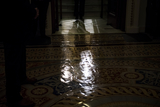 Photo - United States Senate Majority Leader Mitch McConnell (Republican of Kentucky) walks from the Senate chamber to his office at the US Capitol during a vote