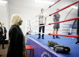 Photo - Camilla Duchess of Cornwall Visits Dwaynamics Boxing Club in Brixton