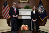 Photos From Amy Coney Barrett Capitol Hill Courtesy Call Bill Cassidy
