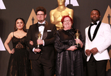 Anna Udvardy Photo - 26 February 2017 - Hollywood California - Salma Hayek Kristof Deak Anna Udvardy David Oyelowo 89th Annual Academy Awards presented by the Academy of Motion Picture Arts and Sciences held at Hollywood  Highland Center Photo Credit Theresa ShirriffAdMedia