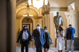 Photo - Member of Congress vote at the US Capitol