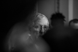 Photo - United States Senate Minority Leader Mitch McConnell (Republican of Kentucky) offers remarks during a press conference following the Senate Republicans policy luncheon at the US Capitol in Washington DC Tuesday September 14 2021 Credit Rod Lamkey  CNPAdMedia