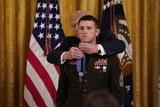 Photo - President Trump Presents Medal of Honor to Sergeant Major Thomas Payne