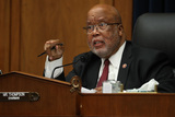 Photo - United States House Homeland Security Committee Chairman US Representative Bennie Thompson (Democrat of Mississippi) questions witnesses during a hearing on worldwide threats to the homeland in the Rayburn House Office Building on Capitol Hill September 17 2020 in Washington DC Thompson said he would issue a subpoena for acting Homeland Security Secretary Chad Wolf after he did not show for the hearing An August Government Accountability Office report found that Wolfs appointment by the Trump Administration which has regularly skirted the Senate confirmation process was invalid and a violation of the Federal Vacancies Reform Act Credit Chip Somodevilla   Pool via CNPAdMedia