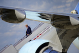 Photo - President Donald J Trump Return to Joint Base Andrews
