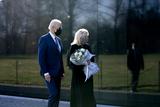 Photo - Biden Visits Vietnam Memorial