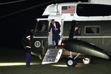 Photo - Donald Trump returns from Philadelphia - Washington