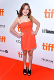 Aimee Laurence Photo - 08 September 2019 - Toronto Ontario Canada - Aimee Laurence 2019 Toronto International Film Festival - The Goldfinch Premiere held at Roy Thomson Hall Photo Credit Brent PerniacAdMedia
