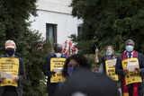 Photos From Group Marchs from the US Capitol to the Dirksen Senate Office Building