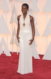 Photo - 22 February 2015 - Hollywood California - Lupita Nyongo 87th Annual Academy Awards presented by the Academy of Motion Picture Arts and Sciences held at the Dolby Theatre Photo Credit AdMedia