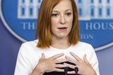 Photo - Jen Psaki speaks from White House