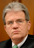 Photo - Coburn Listens as Gonzalez Testifies