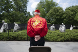 Photos From President Trump lays wreath at Korean War Memorial in DC