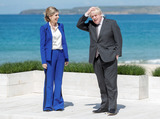 Photos From G7 Summit Official Welcome in Carbis Bay Cornwall