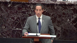 Photo - US Senate Floor Proceedings during the Second Impeachment Trial of US President Trump