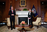 Photo - Amy Coney Barrett Capitol Hill Courtesy Call Kevin Cramer