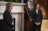 Photos From Amy Coney Barrett Capitol Hill Courtesy Call Cindy Hyde-Smith